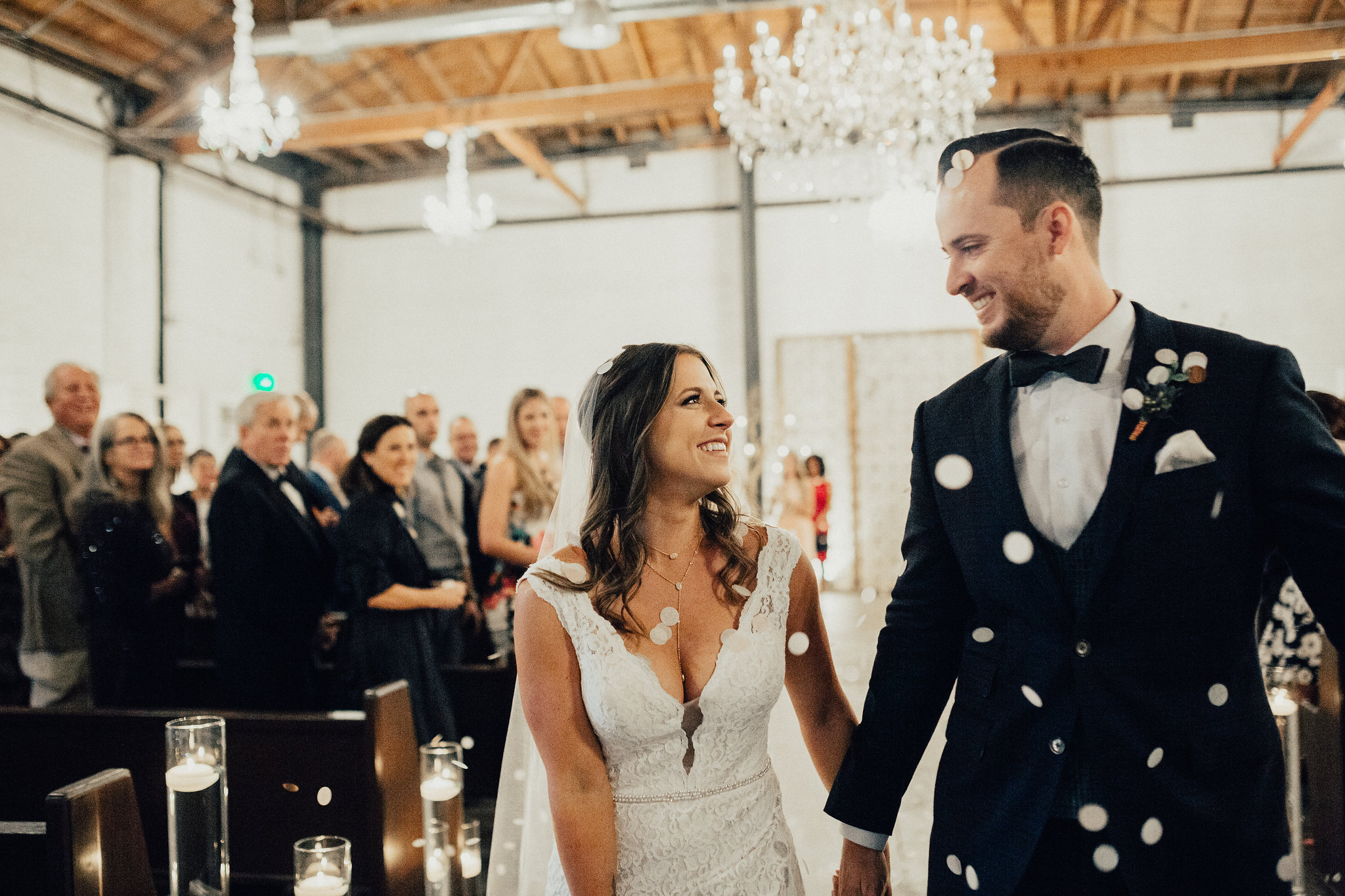 Industrial Chic Wedding in Downtown Phoenix | Bryce & Stefanie, Lugo & Co.