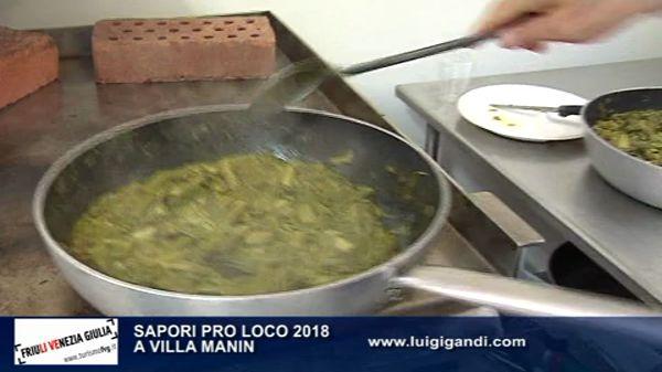 Sapori Pro Loco 2018-Villa Manin
