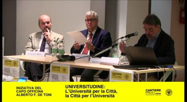 Universitudine, confronto con i candidati Sindaci di Udine