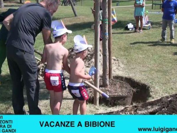 Vacanze a Bibione 2019 – puntata 18 – Piantumazione con Geronimo Stilton