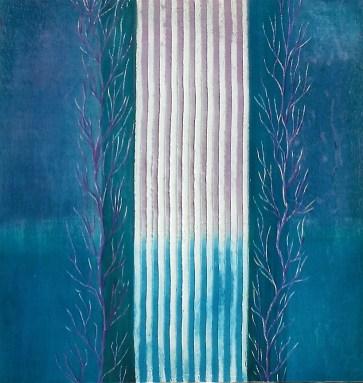 arch.n. 574 I colori della coscienza 129 Affresco su tavola, cm 42x44 anno 2003