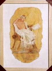 arch.n. 164 Encausto su tela, cm 44x61– anno 2001