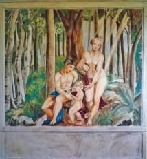 arch.n. 54 affresco su muro, cm 220x225 – anno 1993