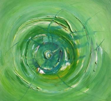 arch.n.588 (serie completa 7 quadri) I colori della coscienzaAffresco su tavola, cm 110x100 (7 opere) anno 2003
