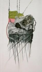 arch.n. 725 Trasformazione Rielaborazione digitale + pittura ad olio su tela, cm 87x150, anno 2004
