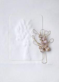 carta incisa + ottone e tessuto compattato e resinato, cm 42x30. Anno 2018