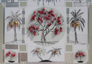 Particolare di Giardino onirico -archivio n.2011