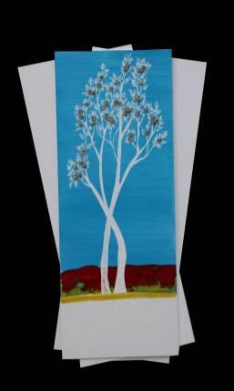 I buoni frutti, archivio n. 2033, cm 71x42, anno 2021 Pittura a smalto e incisione su PVC + vestiti usati compattati con acciaio inox e resina