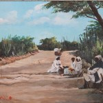 Vendors Resting along the route