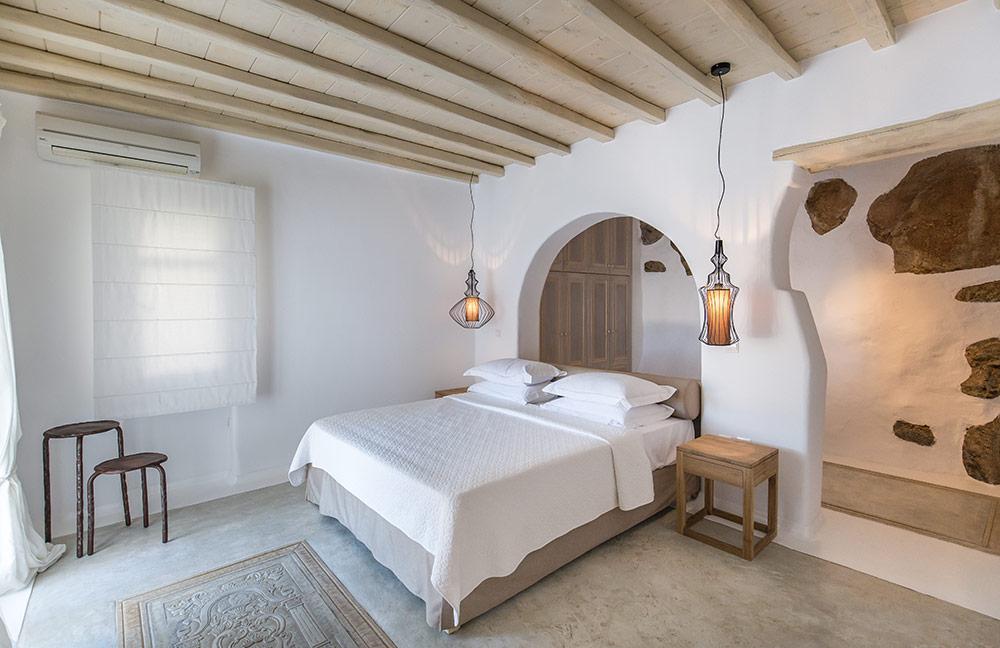 Kymothoe-bedroom-4 villa Mykonos