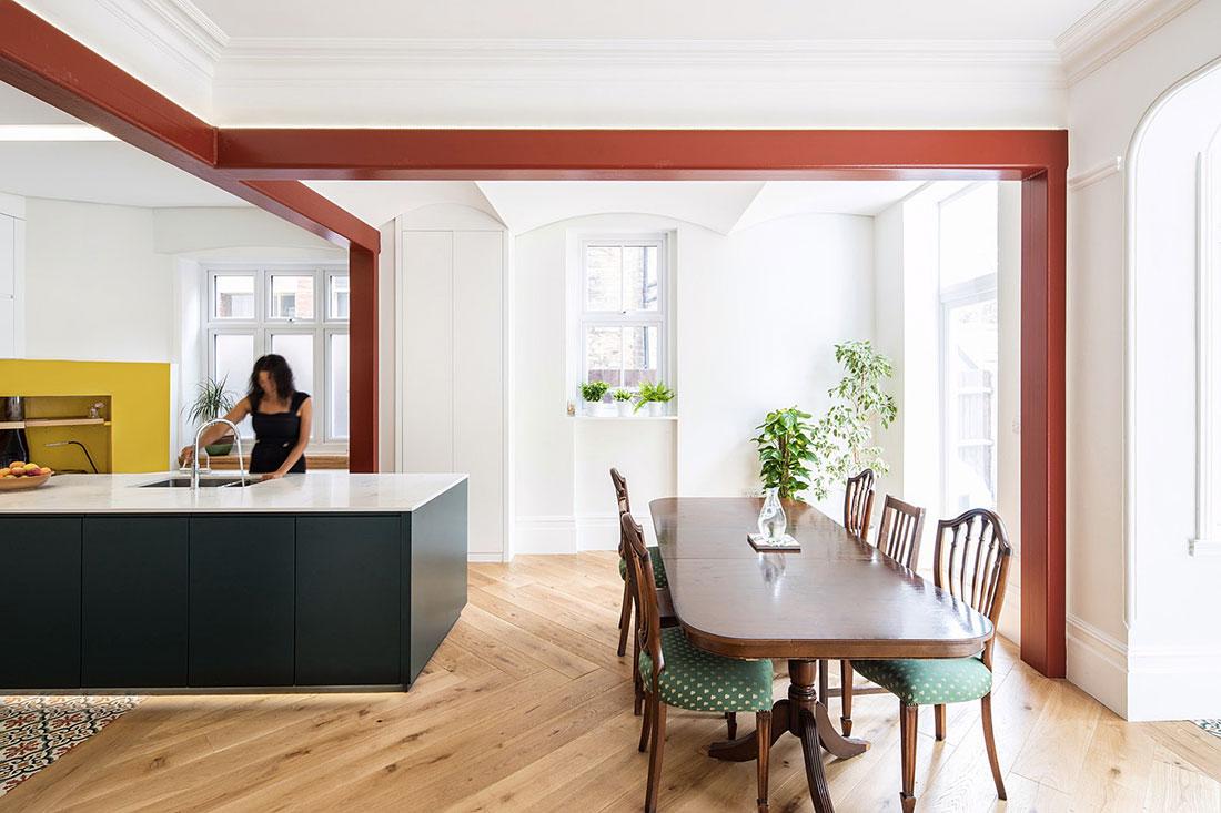 cucina di design bianca
