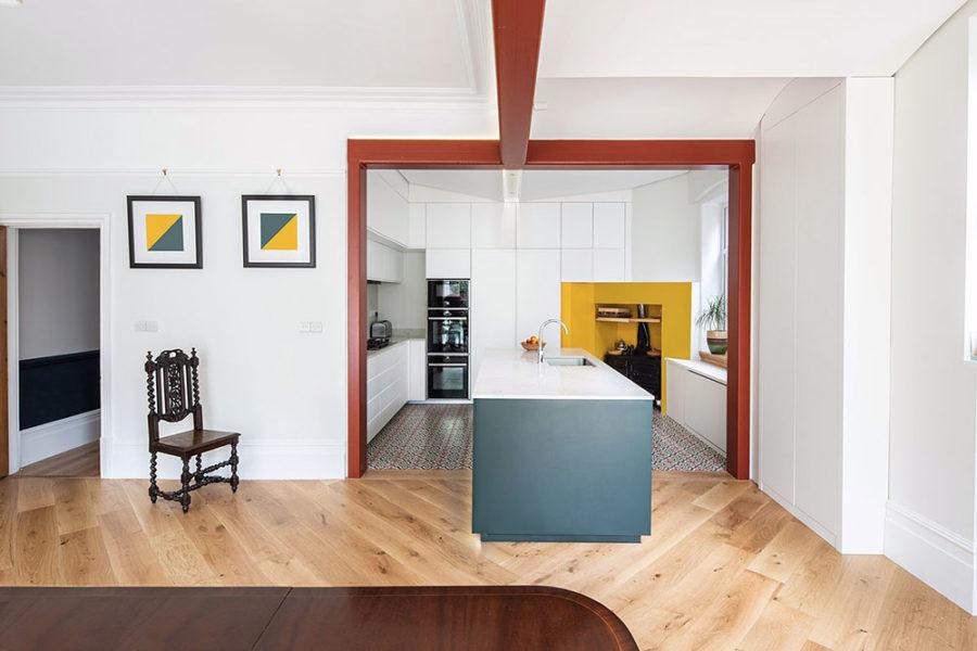 cucina e living design