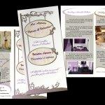 Patines et Veloutine : plaquette promotionnelle