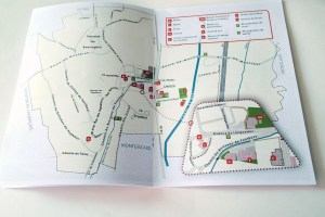 livret – plan du village