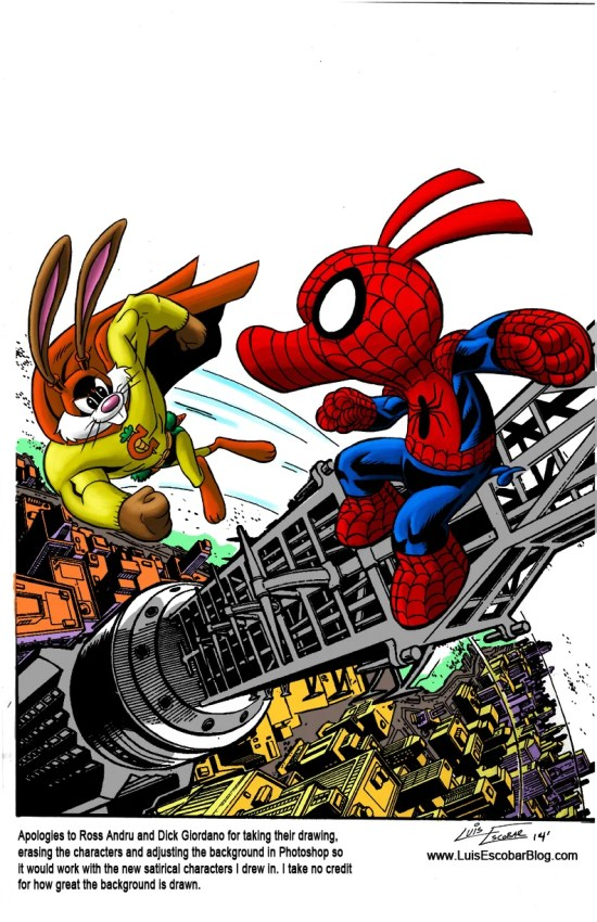 Spider-Ham vs Captain Carrot