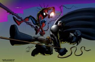 Batman vs. Spider-Man color