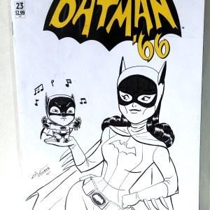Batman '66 Sketchcover