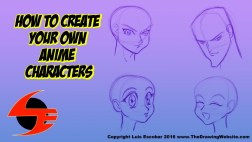 How to Create Your Own Anime Characters | Luis' Illustrated Blog