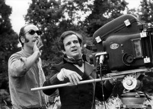 Prod DB © Films du Carrosse / DR L'ENFANT SAUVAGE de Franois Truffaut 1969 FRA tournage avec Nestor Almendros (directeur photo) et Franois Truffaut d'apres le roman de Jean Itar camera ARRI