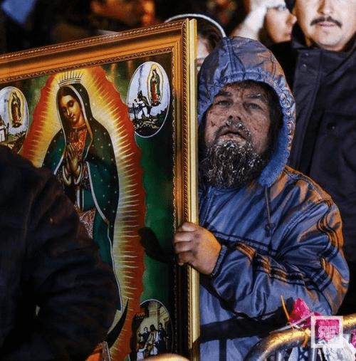 Leonardo DiCaprio obtuvo ayuda divina.