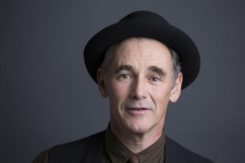"In this Oct. 4, 2015 photo, Mark Rylance poses for a portrait to promote his film ""Bridge of Spies"" in New York. (Photo by Amy Sussman/Invision/AP)"
