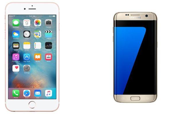 ¿iPhone 6S Plus o Galaxy S7 Edge?
