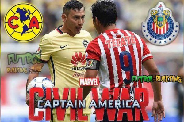 memes del America vs Chivas
