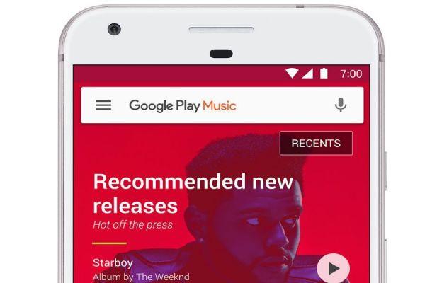 actualización de Google Play