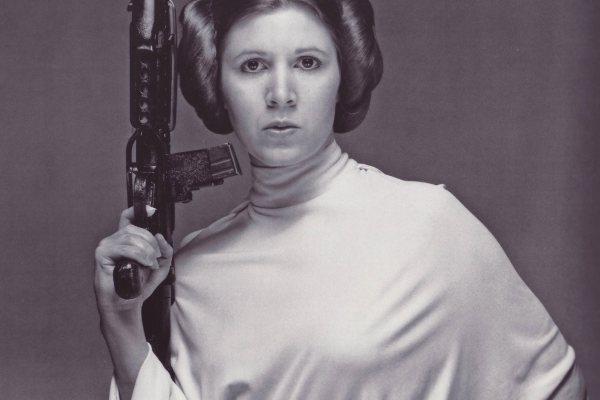 Carrie Fisher, la Princesa Leia
