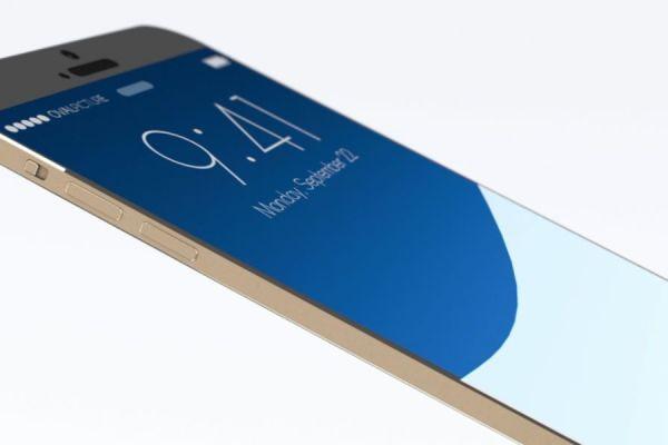 iPhone 8 de vidrio