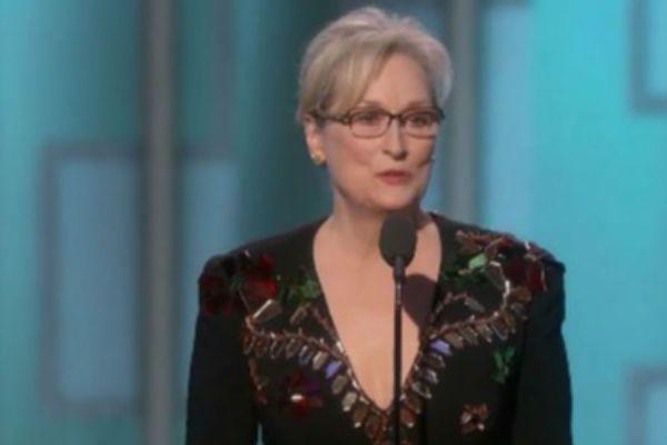 discurso de Meryl Streep