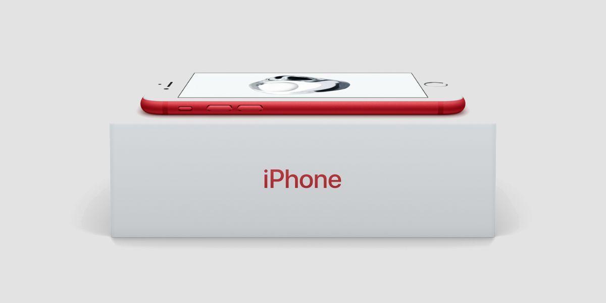 El iPhone rojo es una realidad y aquí están las imágenes