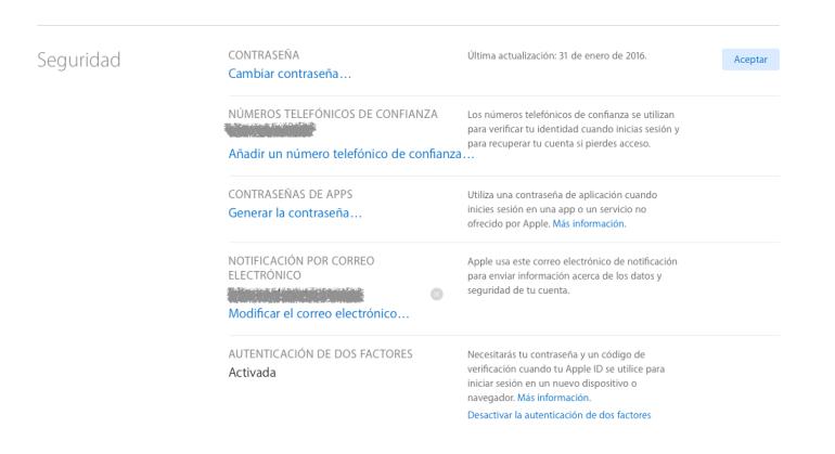 339ead20a69 Cómo configurar la verificación en dos pasos en tu Apple ID | Móvil ...