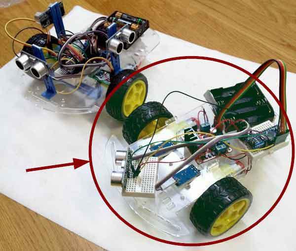 robot 2WD arduino montaje - Electrogeek