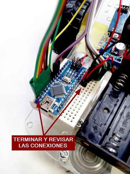 robot 2WD arduino montaje nano - Electrogeek