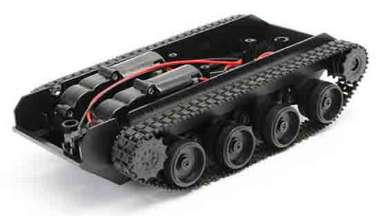 arduino proyecto tanque chasis 1 - Electrogeek
