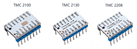 arduino tmc2100 tmc2130 tmc2208 modelos - Electrogeek