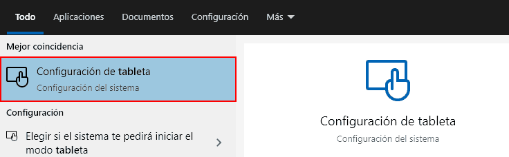 opciones tableta windows 10 2004 1 - Electrogeek