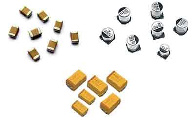 pcb componentes condensadores - Electrogeek
