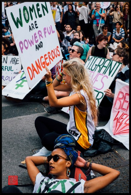 and yet one wouldn't really think how powerful and dangerous they are looking at this image. This group was very vocal.