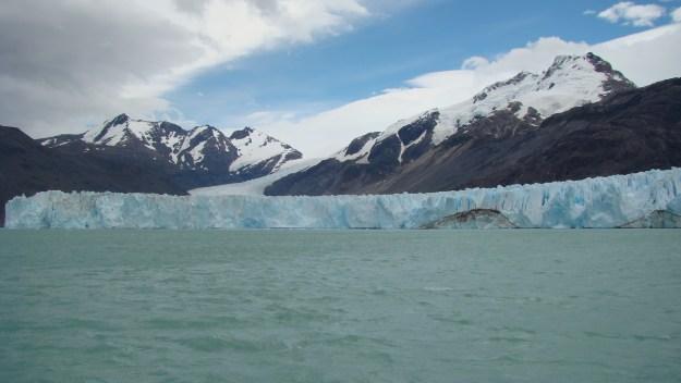O glaciar O'Higgins é um dos maiores da região de Aysén