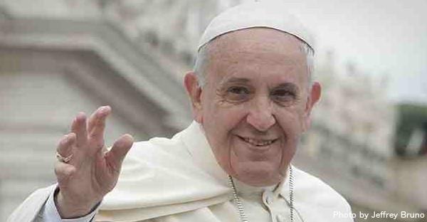 Pope Francis by Jeffrey Bruno