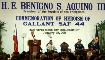 President Noynoy Aquino