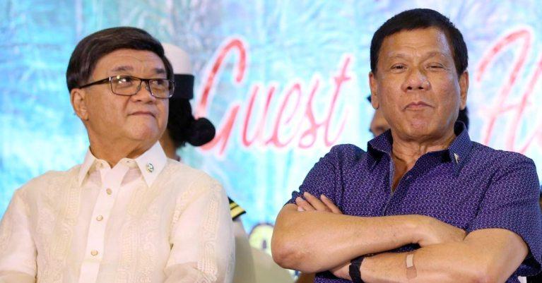 Rodrigo Duterte and Vitaliano Aguirre II