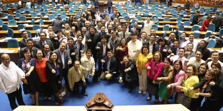 Members of the Philippine House of Respresentatives
