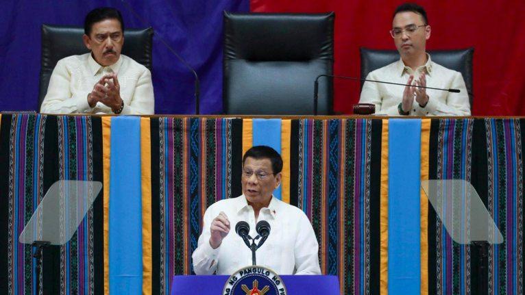 Tito Sotto, Alan Cayetano, and Rodrigo Duterte