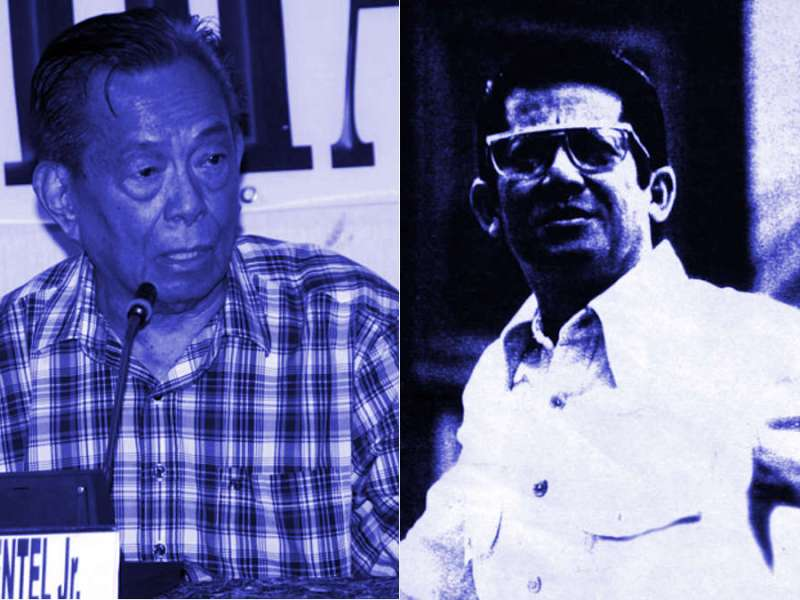 Nene Pimentel and Ninoy Aquino