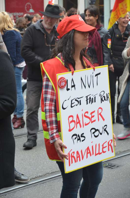 Strike France Labor Code 2016