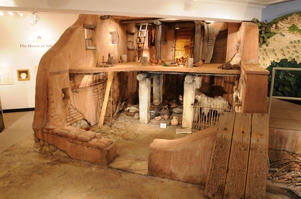 Harvard Semitic Museum - Full scale model of an ancient Israelite home. - Cambridge, MA, United States