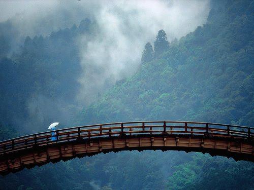 Mountain Bridge, Yamaguchi, Japan